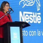Nestle setzt auf eine Frau