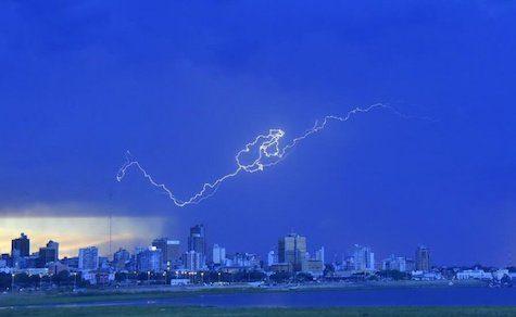 Wetterbericht: Unwetter und Regen bis zum Wochenende