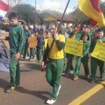 Proteste gegen Enteignung einer Estancia von Deutschen