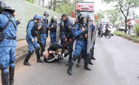 Umweltaktivist nach Zwischenfällen mit der Polizei verhaftet
