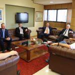 Kongresspräsident empfing österreichische Parlamentarier