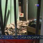 Bewohner lässt Haus mit Benzin explodieren
