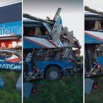 In Asunción losgefahren: Schwerer Busunfall in Argentinien