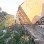 Alte Holzbrücken sind gefährlich