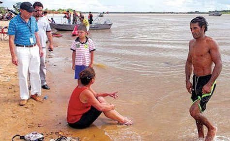 Rio Paraguay: Niedriger Pegel dennoch gefährlich
