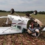 Beim Landeanflug abgestürzt