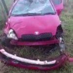 Nasse Fahrbahn und hohe Geschwindigkeit lösen Unfall aus