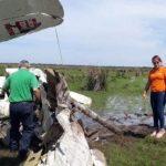 Flugzeugabsturz wohl aufgrund eines Pilotenfehlers
