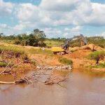 Umweltkatastrophe droht: Flusswasser abgezweigt
