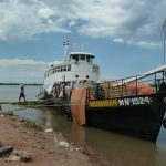 Das Schiff, einziges Verkehrsmittel in Alto Paraguay