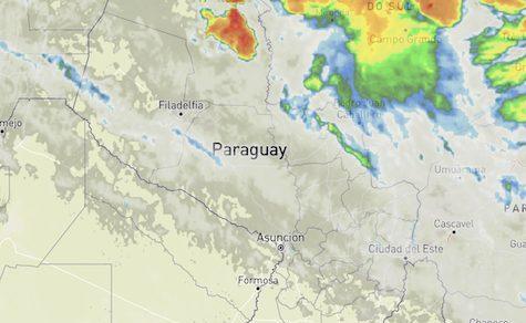 Spezielle Unwetterwarnung für den Chaco