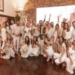 Glamouröse Weihnachtsfeier von Dior