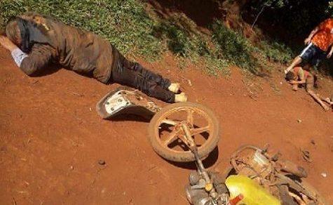 Sieben Verletzte bei Motorradunfall