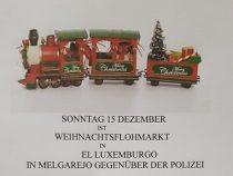 Weihnachtliche Stimmung und Flohmarkt