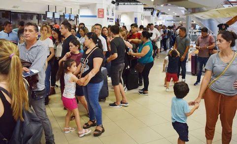 Flughafen Silvio Pettirossi: Bitte 4 Stunden vor Abflug da sein