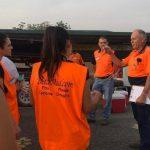 Zwei Paraguayerinnen im Einsatz gegen die Großfeuer in Australien