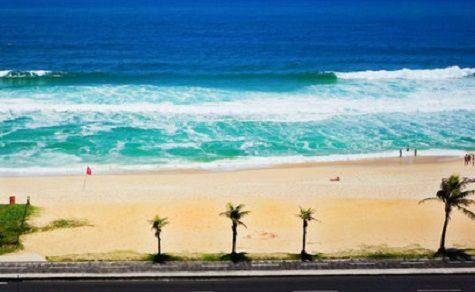 Tod am Strand von Rio