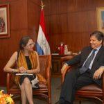 Innenminister und Botschafterin von Frankreich diskutieren über Sicherheit