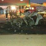 Fahrer im Auto in Loma Plata verbrannt