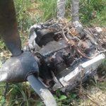 Überreste eines abgestürzten Flugzeugs gefunden
