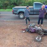 84-jähriger Motorradfahrer stirbt, nachdem er von einer Autofahrerin angefahren wurde
