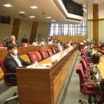 Abgeordneten setzten ihre Aktivitäten bis zum 12. April aus