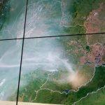 Paraguay unter Rauch: Bleiben Sie zu Hause