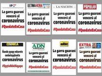 Patriotismus pur: Die Guarani-Kralle wird das Coronavirus besiegen