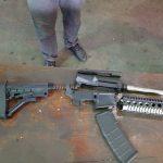 Große Menge Waffen beschlagnahmt