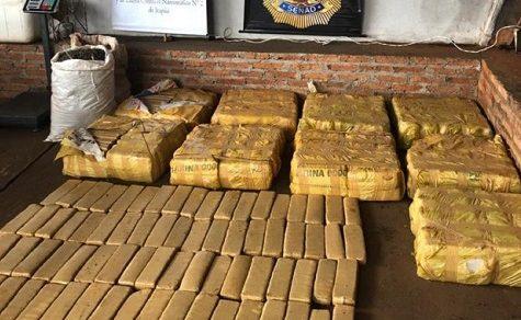 418 Kilo Marihuana beschlagnahmt