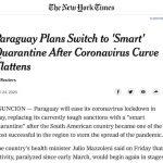 Was die NYT über die intelligente Quarantäne schreibt