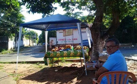 Straßenverkäufer trotz Quarantäne weiter aktiv
