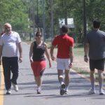 Joggen ja, Fuß- und Volleyball nein