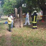 Leiche im Brunnen entdeckt