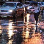 Regen und Kälte