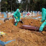 Todesfälle durch Covid-19 in Brasilien so hoch wie im Krieg gegen Paraguay