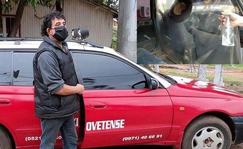 Covid-19-Lebensweise: Taxifahrer passen sich an
