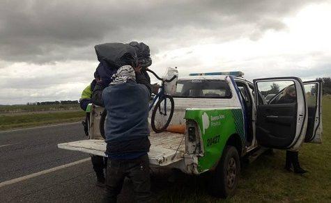 So weit das Meer: Quarantäne vereitelt den Traum eines Fahrradfahrers