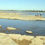 Starke Regenfälle sorgten für Erholung des Flusspegels