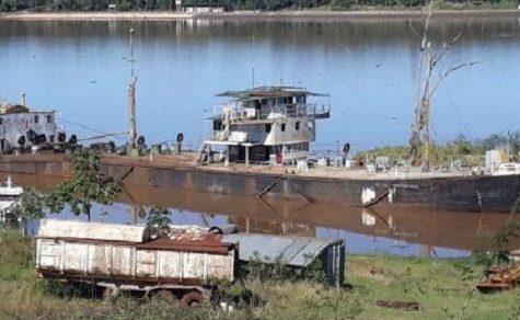 Gestrandetes Schiff wirft Rätsel auf