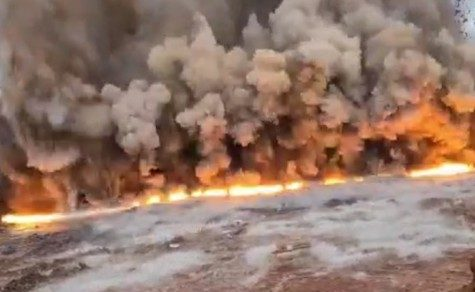Hochexplosiv: Selten so ein Schauspiel gesehen