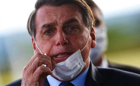 Jair Bolsonaro wurde positiv auf Covid-19 getestet