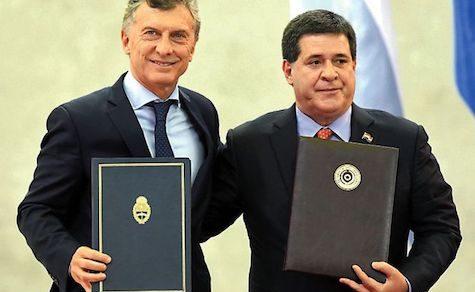 Mauricio Macri reist nach Paraguay