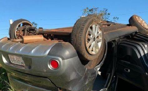 Schwerer Unfall durch Reifenplatzer