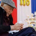 110 Jahre: Sein Laster ist das Rauchen