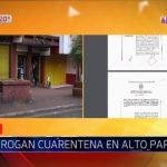 Coronavirus: Alto Paraná hermetisch abgeriegelt