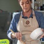 First Lady versucht sich im Fernsehen und zeigt ihre Kochkünste