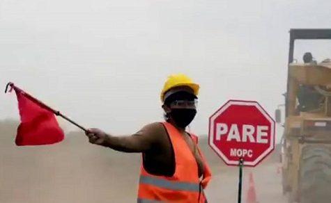 Mehr als 40 Frauen im Straßenbau