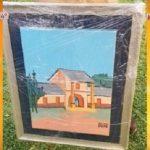 Auf Facebook gestohlenes Gemälde angeboten
