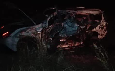Tödlicher Verkehrsunfall im zentralen Chaco